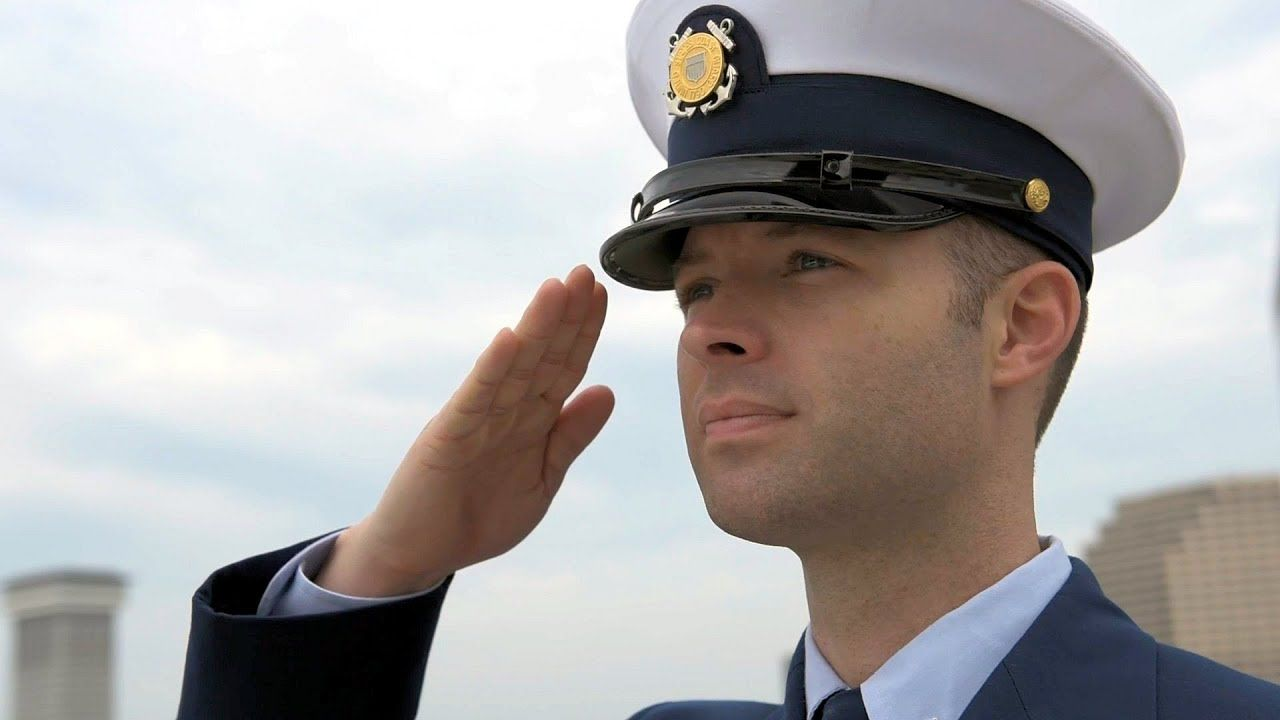 Coast guard members from units in the eighth coast guard