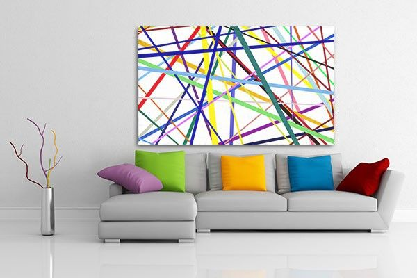 Tableau salon color d co mikado peinture pinterest tableau salon salon color et tableau - Tableau decoration salon ...