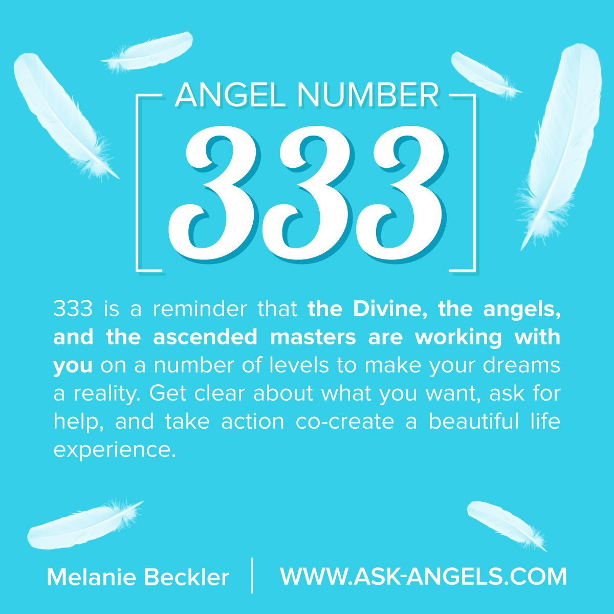 Angel number 333 what does 333 mean learn why you keep seeing this is a reminder that the divine and angels are working with you on a number of levels to make your dreams a reality get clear about what you want biocorpaavc Choice Image