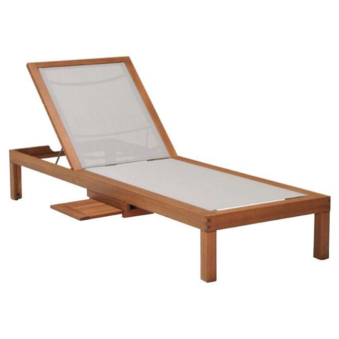 chaise longue kingsbury bois gris rona notre future maison pinterest patio lounge. Black Bedroom Furniture Sets. Home Design Ideas
