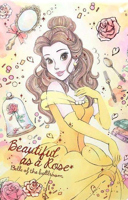 Pin By Guadalupe On Princesas Disney Princess Art Disney Wallpaper Disney Drawings