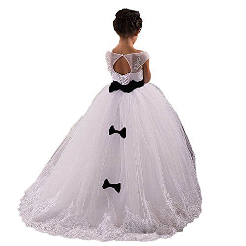 5ff3a41f15414 CoCoGirls Cute Children Flower Girls Wedding Dresses Kids First Communion  Gown