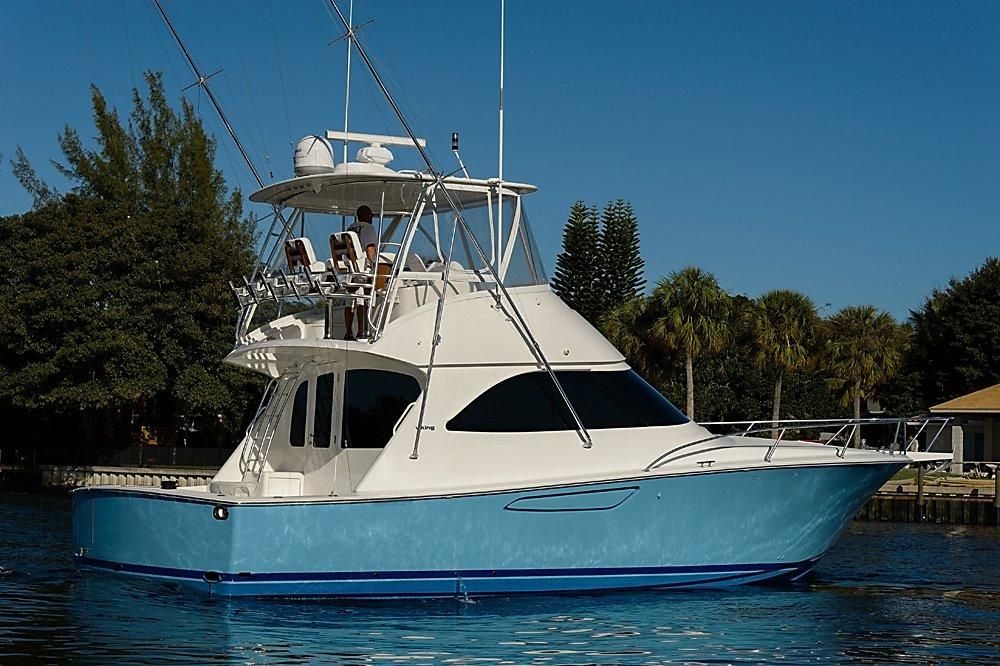 """Used """"2012 42 ft Viking Yachts Convertible"""" HMY Yachts"""