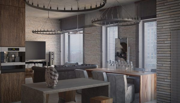 3 Concrete Lofts With Wide Open Floor Plans (Interior Design Ideas ...