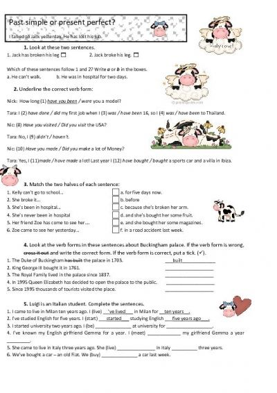Present Perfect Simple Lessons Tes Past Simple Present Perfect Lesson Year english worksheets tes