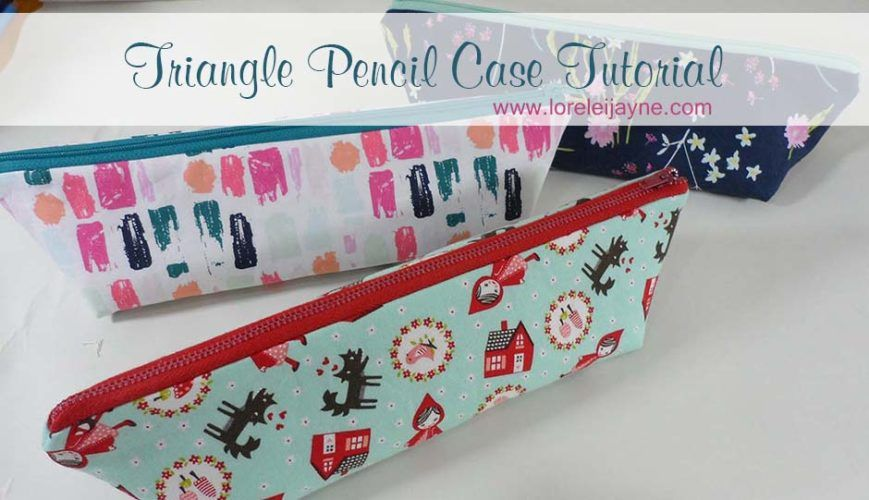 Triangle Pencil Case tutorial | Nähen | Pinterest | Hüllen ...