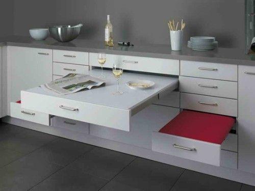 15 diseños de comedor y cocina juntos para espacios pequeños ...