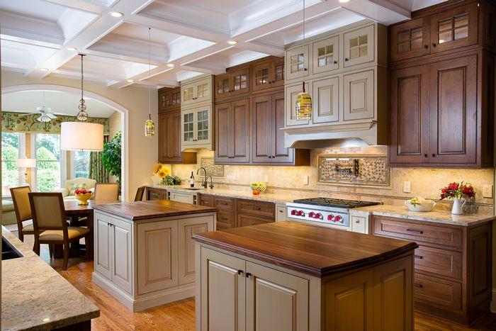 Bon Elmwood U0026 Shiloh Custom Kitchen Cabinets In Littleton MA | Wayside Kitchens