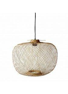 Bloomingville Lampe Suspension Bambou naturel ˜42xH30cm