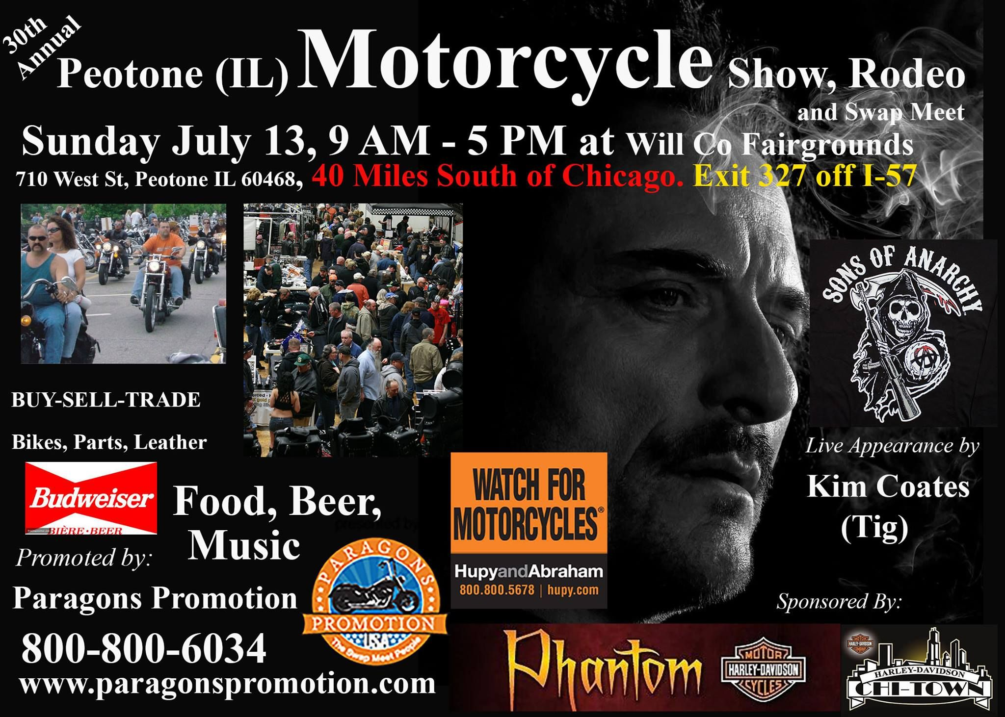 Illinois will county peotone - Peotone Motorcycle Show Rodeo And Swap Meet Sunday July Will County Fairgrounds