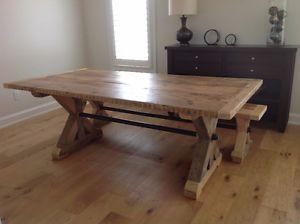 Reclaimed Wood Harvest Tables And More Oshawa / Durham Region Toronto (GTA)  Image 1