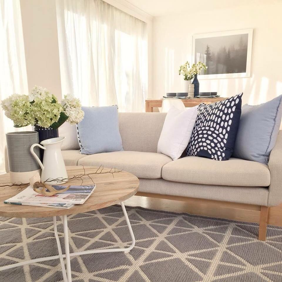 Attractive Interiors Home Staging: Beautiful Living Rooms, Home Decor