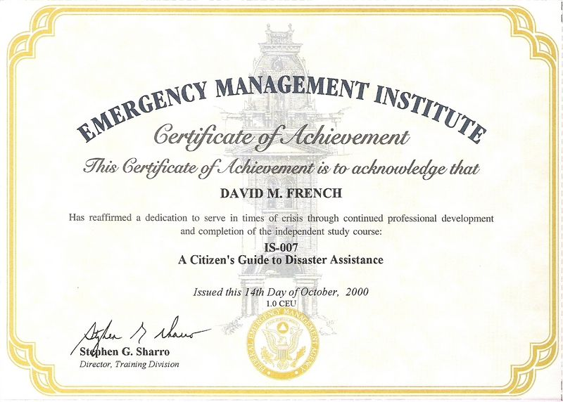 IS-00007 - Citizen's Guide to Disaster Assistance   FEMA