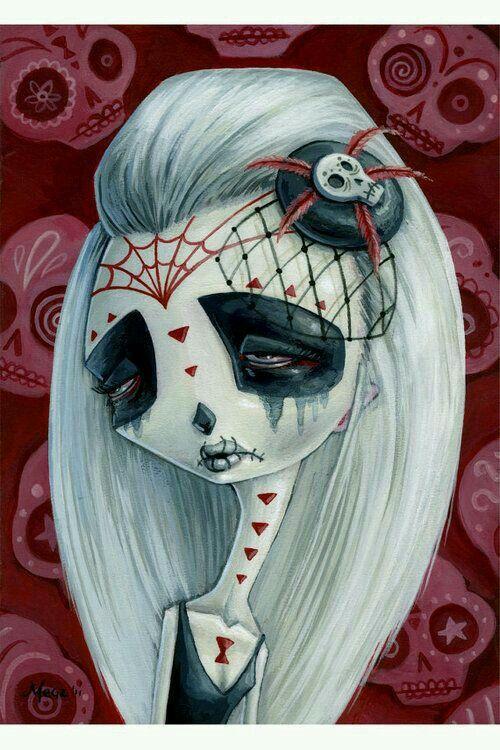 .... Dia De Los Muertos ...