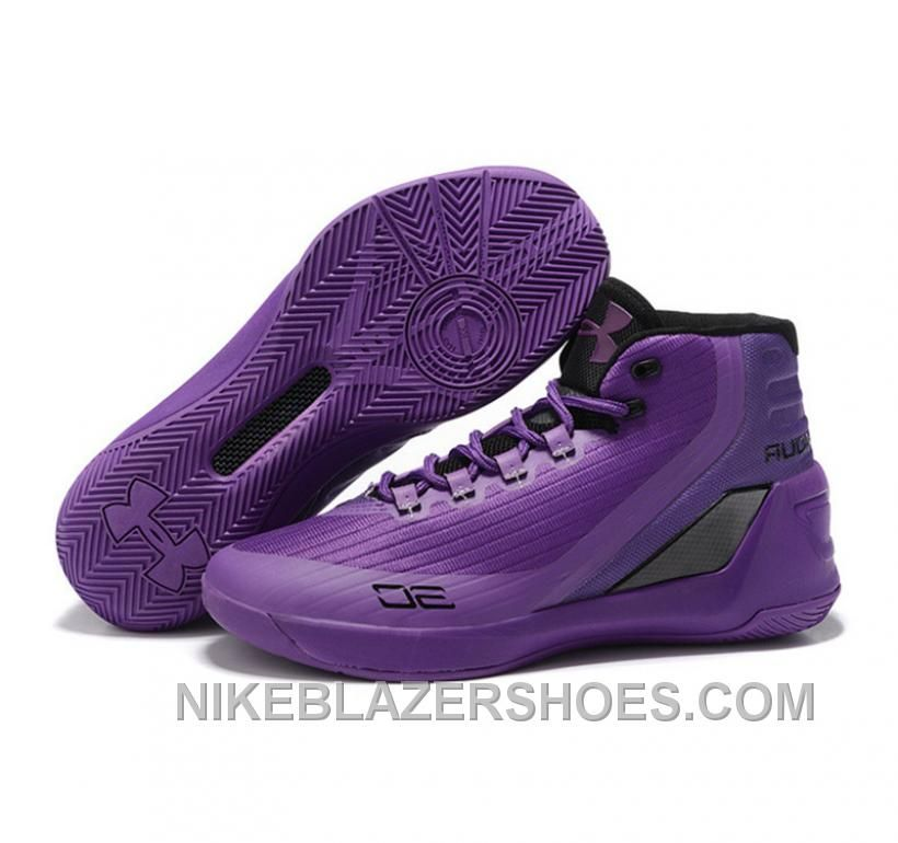 buy popular 2186d a4a0d Under Armour Stephen Curry 3 Shoes Purple Cheap, Price   65.00