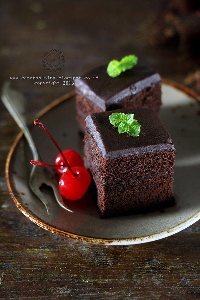 Resep Brownies Kacang Mete Bebas Gluten Super legit dan gurih