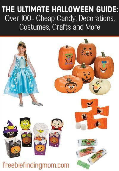 The Ultimate Halloween Guide Over 100 \u2013 Cheap Bulk Halloween Candy - bulk halloween decorations