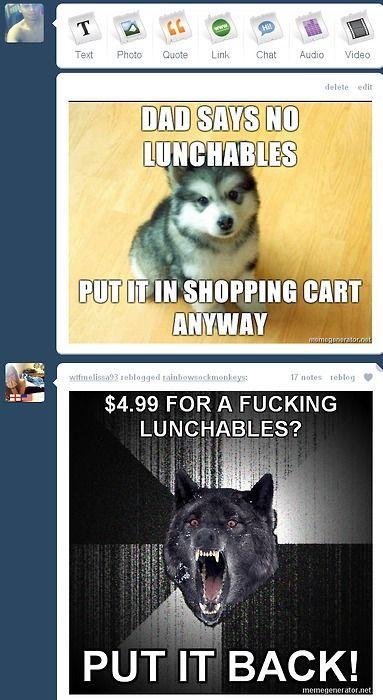 Image 76528 Insanity Wolf Haha Funny Insanity Wolf Meme