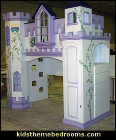 Unique Toddler Girls Beds Novelty Castle Theme Beds And Castlefort Style Beds For Kids Bedrooms Castle Bed Kid Beds Built In Dresser