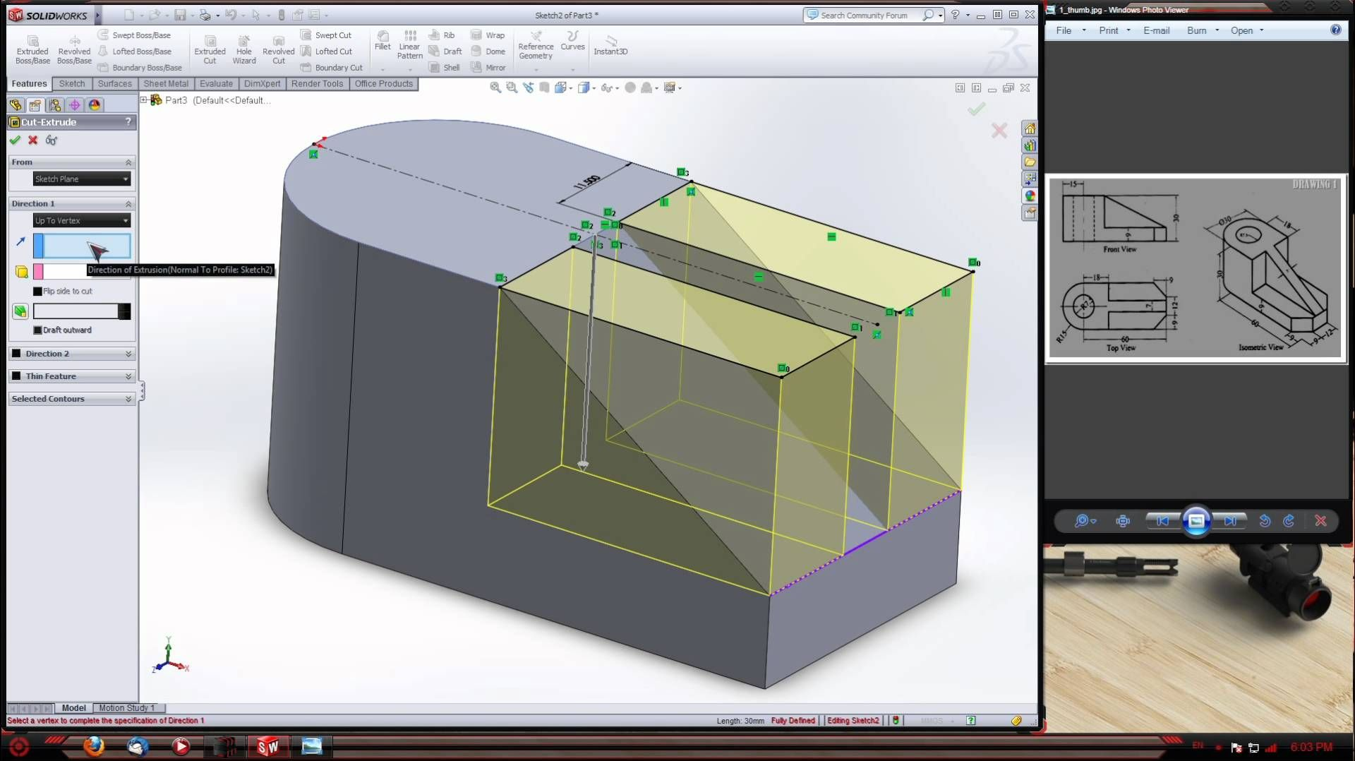 Solidworks intro tutorial solid works pinterest solidworks intro tutorial baditri Image collections