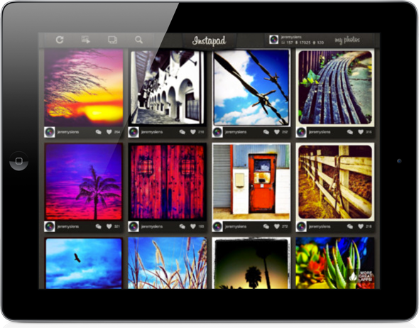 Want Instagram Viewer For Your New Retina iPad? InstaPad