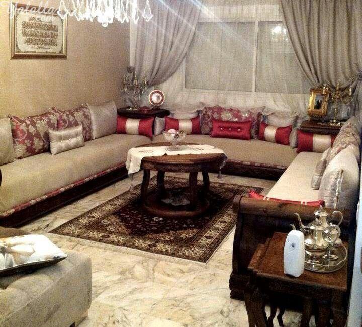 صالون مغربي   بلادي   Salon, Moroccan salon et Salon marocain