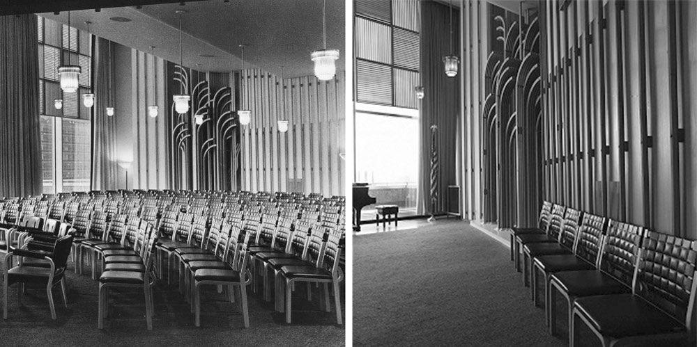 Alvar Aalto's interiors for 809 U.N. Plaza