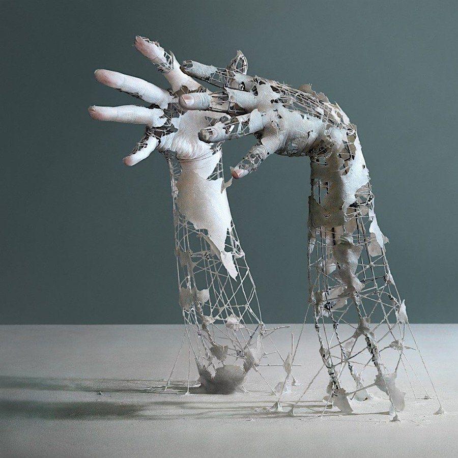 yuichi ikehata l sst mit seinen skulpturen erinnerungen verblassen je nachdem aus welchem. Black Bedroom Furniture Sets. Home Design Ideas