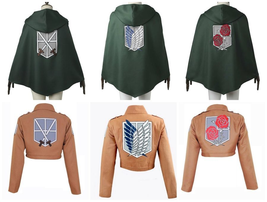 Images Of Attack On Titan Jacket And Cape