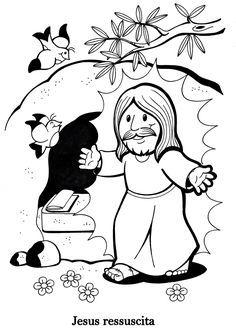 jesus cristo ressuscitou atividades educativas pinterest