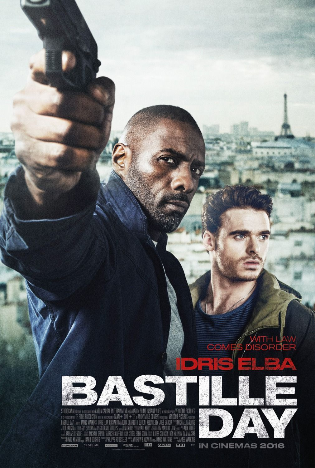 Uk Posters For Bastille Day With Idris Elba Elvis Nixon With Michael Shannon Kevin Spacey Ver Peliculas Gratis Peliculas Ver Películas Gratis Online