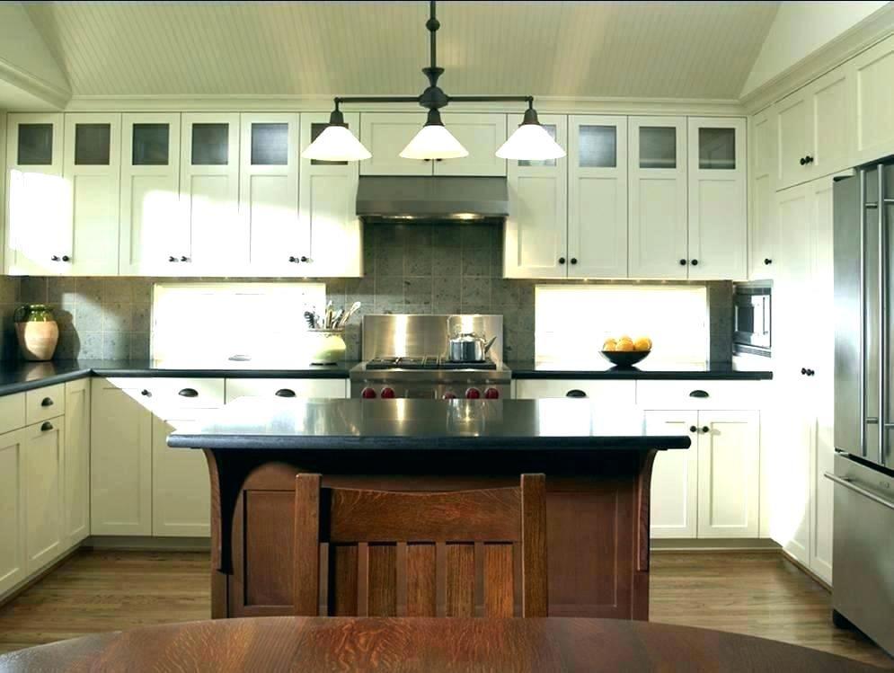 Craftsman Kitchen Island Mission Style Kitchen Island ...