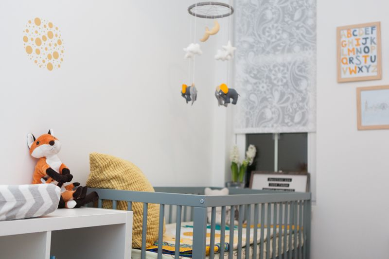 Modern Affordable Neutral Nursery Mokee Cot In Stone Teal Ikea Storage Summer Infant