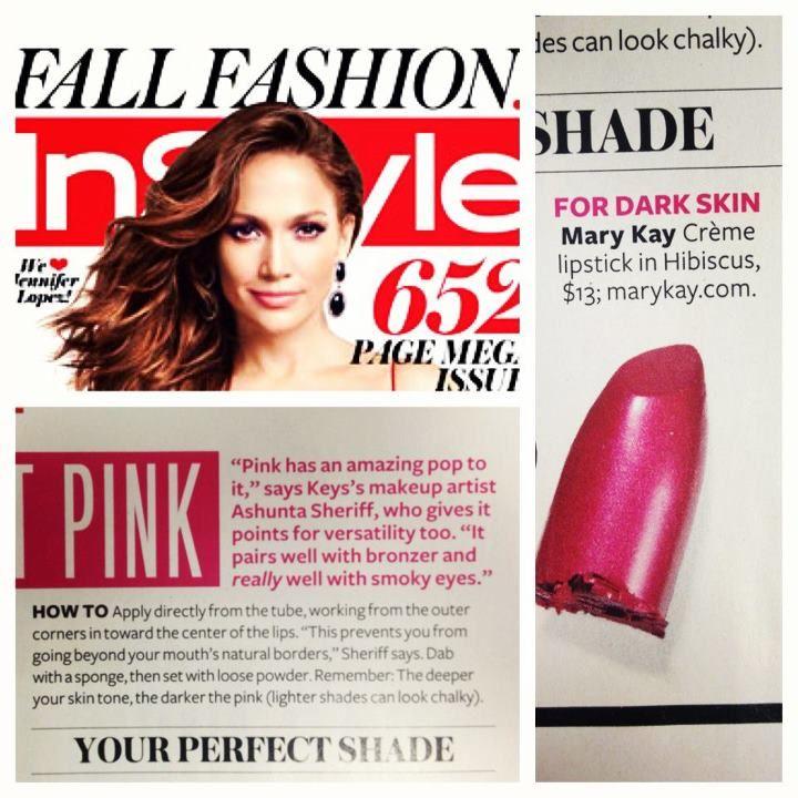 MK in In Style Magazine