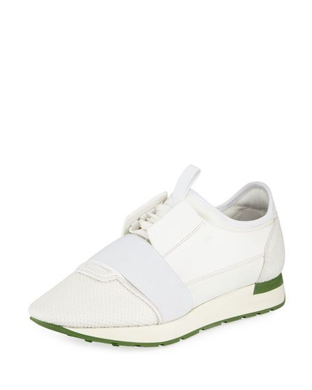 Balenciaga Classic Lace-up Sneakers In