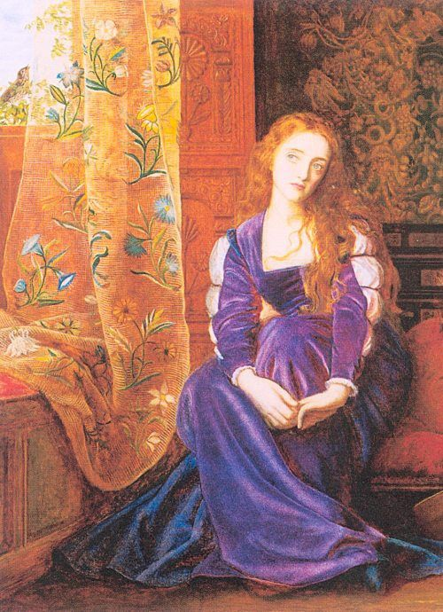 Arthur Hughes The Pained Heart Or Sigh No More Ladies