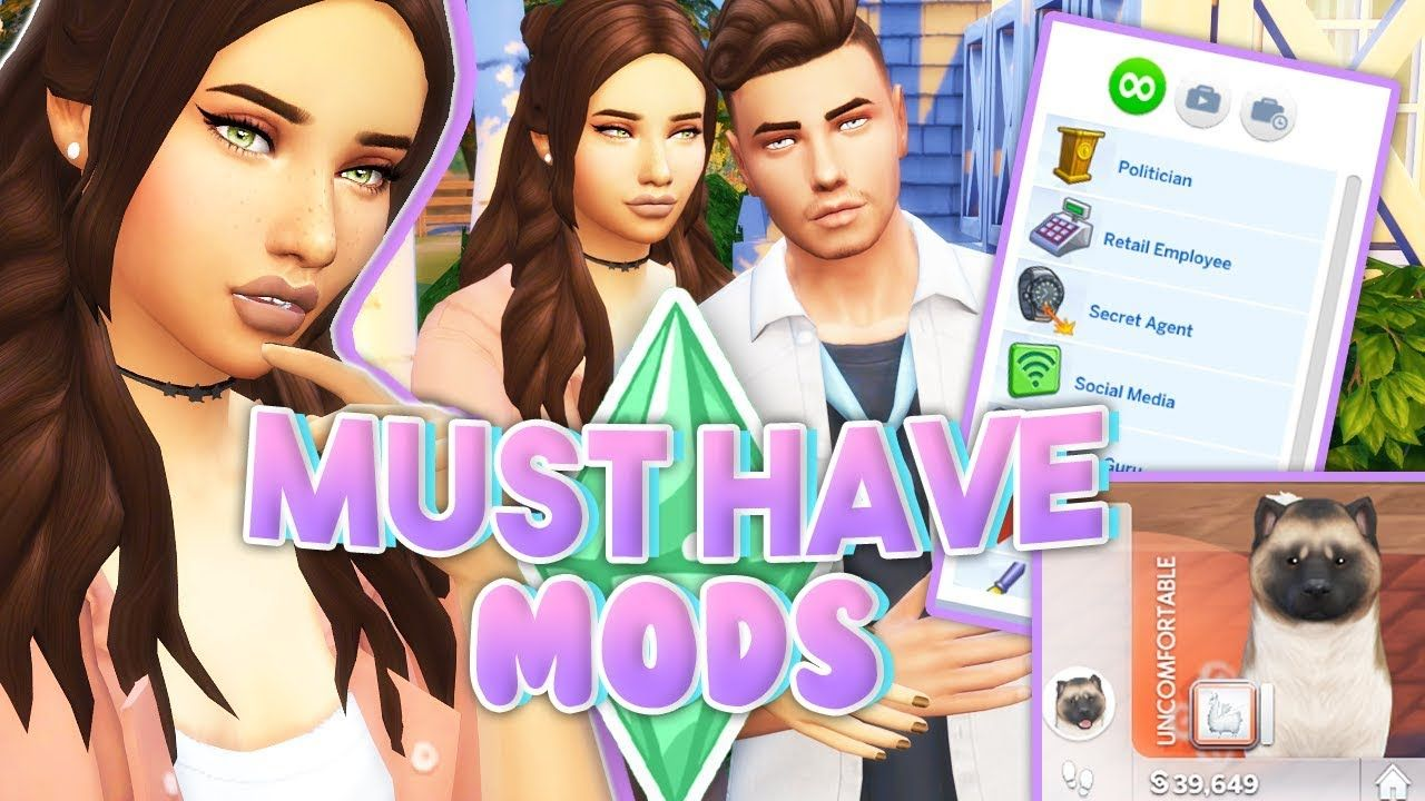 MY MUST HAVE MODS💜 // The Sims 4 | + ALL THE LINKS - YouTube ...