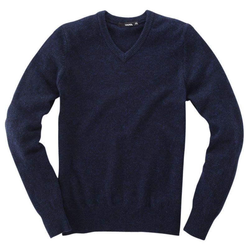 VANCL-V-Neck-Premium-Wool-Sweater-Navy-Blue-SKU_7654234.bak.jpg ...