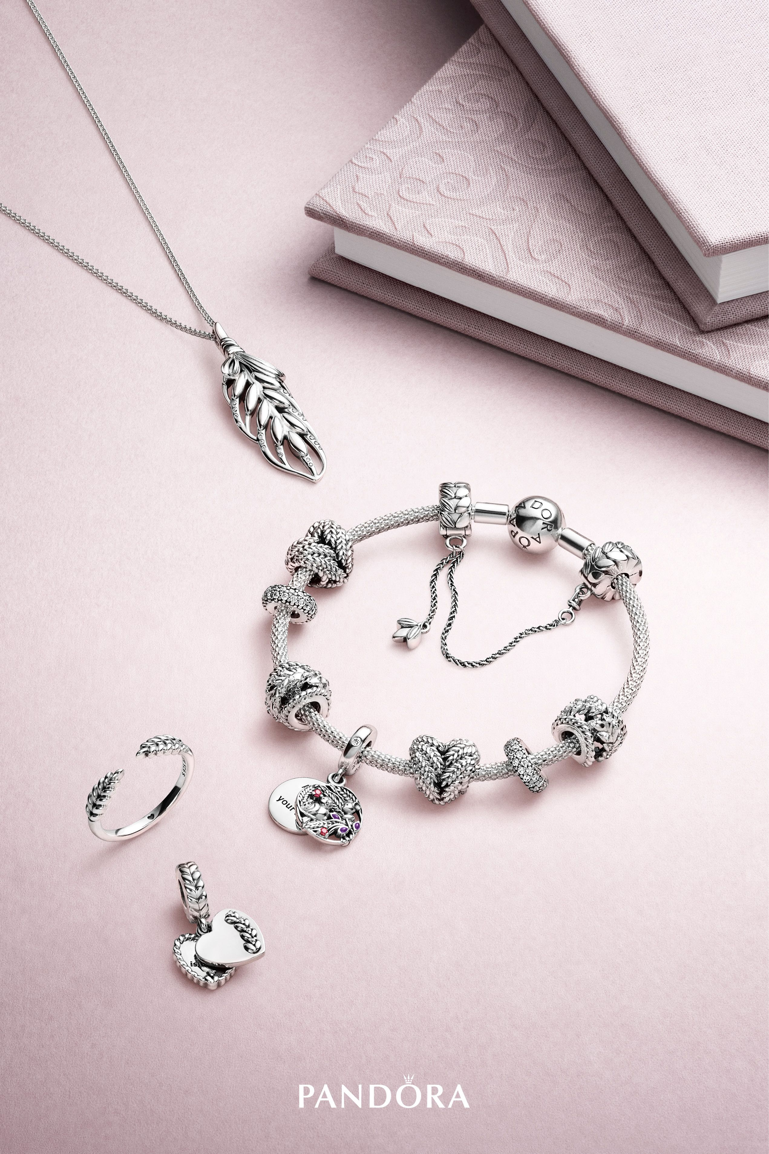 648d4bcf2 Style takes on a fresh feel this season as new season charms mix filigree  patterns, woven textures, pavé embellishment and high-shine finishes to  create new ...