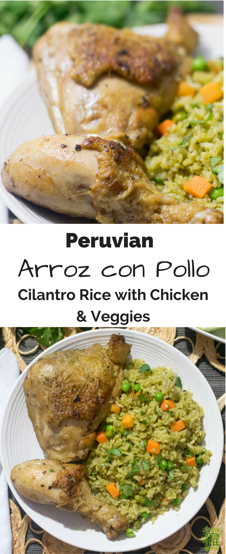 Arroz con Pollo, Peruvian Chicken with Cilantro Rice | Rezept ...