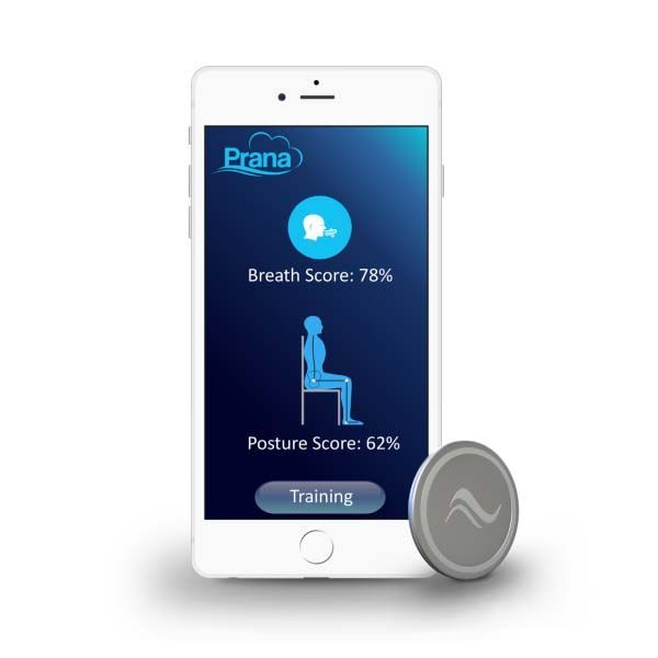 Prana Smart Wearable Helps You Reduce Your Stress by Tracking Breath and Posture