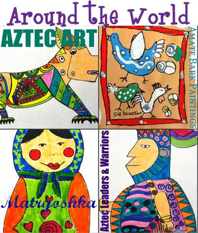 Art From Around The World Art Lessons Elementary Teaching