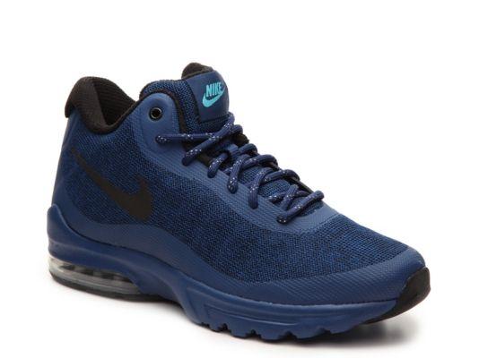 buy popular 1a7b9 0d989 ... bigger mid) NIGHT MAROON Mens Nike Air Max Invigor Mid-Top Sneaker - -  NavyBlack ...