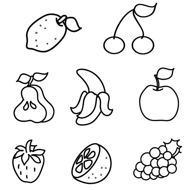 Ausmalbilder Obst Und Gemuse Ausmalbilder Fur Kinder Malvorlagen Ausmalbilder Kinder Ausmalbilder Zum Ausdrucken