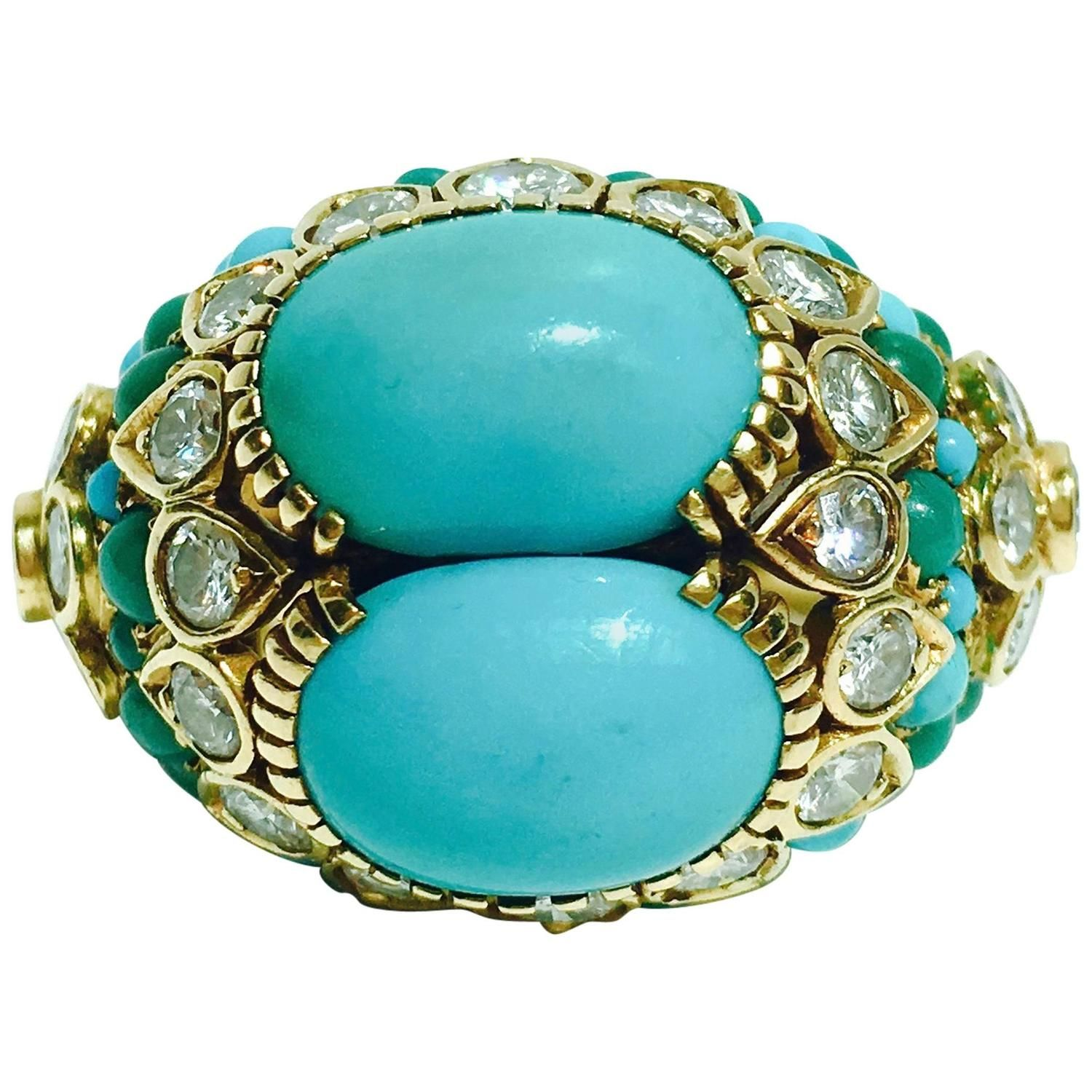 antique rings and product ring turquoise sold diamond buy items