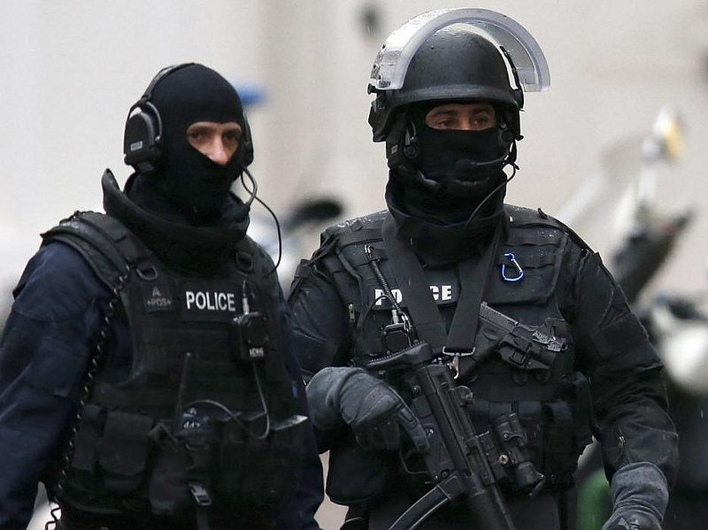 French Police Paris Terror Attack Police Special Forces