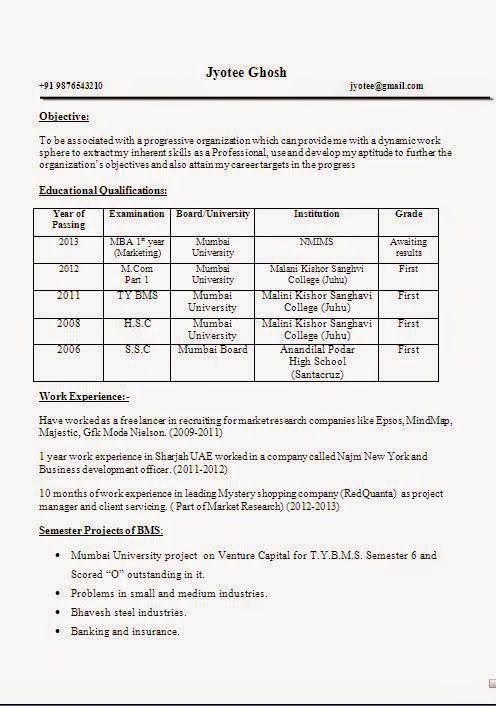 Examples Of Profile On Resume Examination Board Curriculum Vitae Resume Management Skills