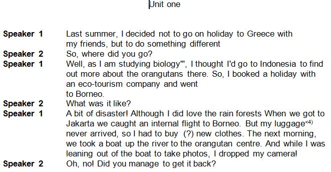 نصوص استماع انجليزى اولى ثانوى 2020 ترم اول بوابة كويك لووك العربية Study Biology How To Find Out Greece Holiday