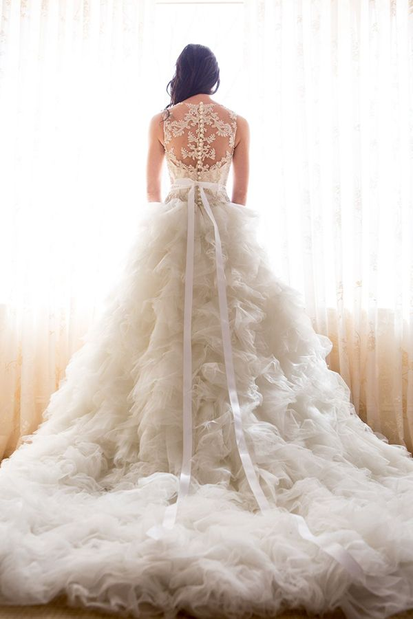 Veluz Reyes Wedding Gowns that Sing with Details | Gowns, Weddings ...