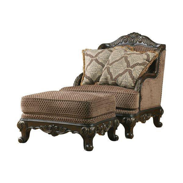 Prime Ashley Furniture Avalon Antique Chair Found On Polyvore Machost Co Dining Chair Design Ideas Machostcouk